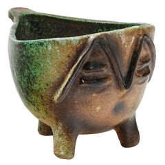 Amazing Zoomorphic Ceramic by Accolay, circa 1960-1970
