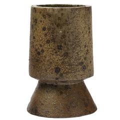 Rare and Unique Stoneware Sculpture, Vase by Robert Deblander, circa 1970-1975