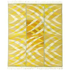 Swedish Flat-Weave Carpet by Barbro Nilsson, 1964