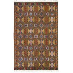 Mid-20th Century Swedish Flat Carpet