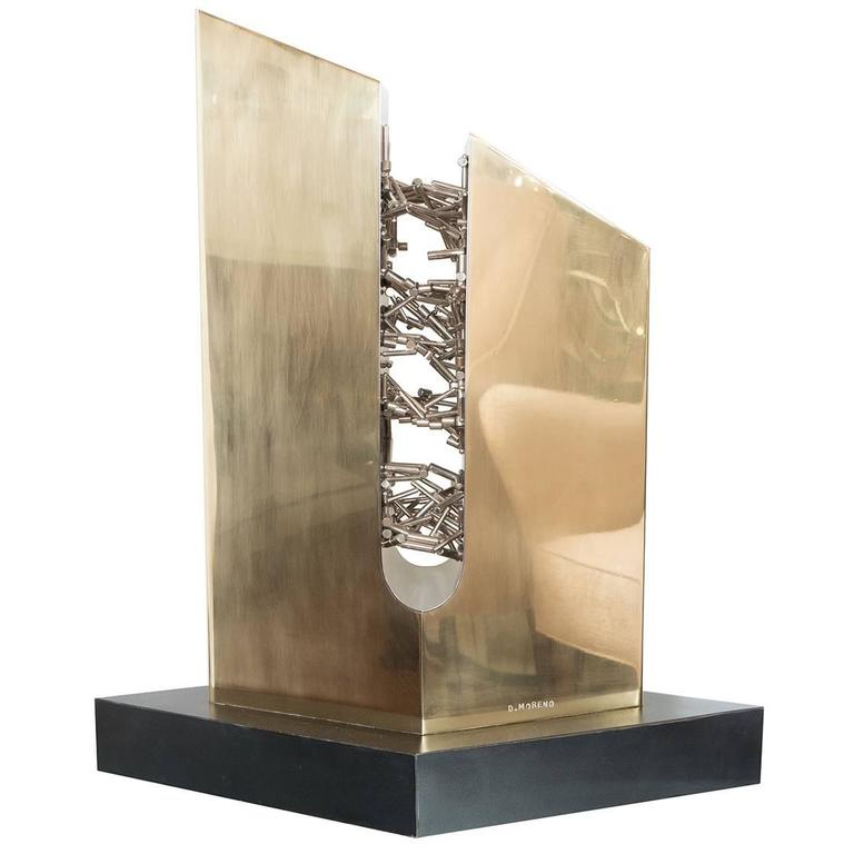 Abstract Magnetic Sculpture
