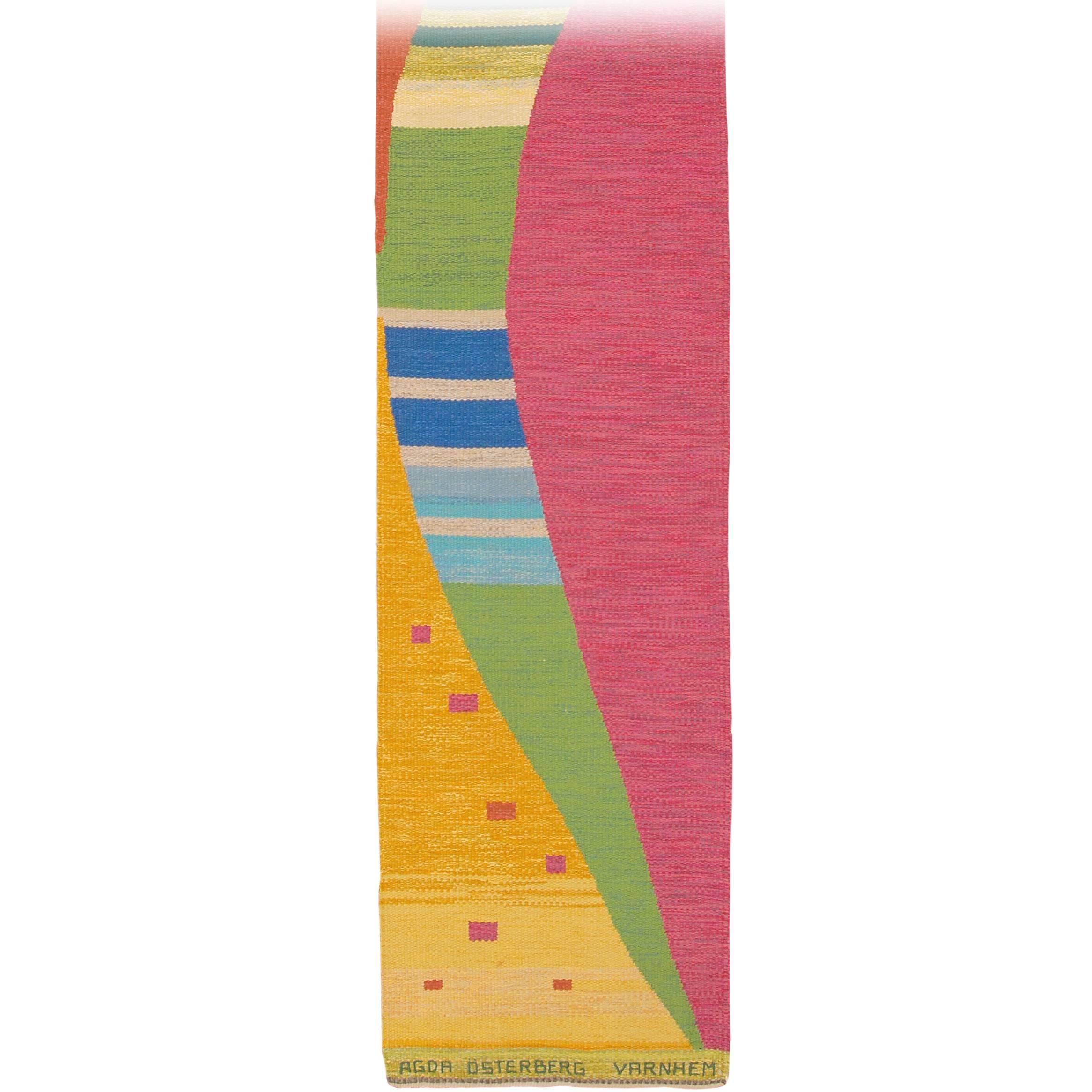 Mid-20th Century Swedish Flat-Weave Carpet