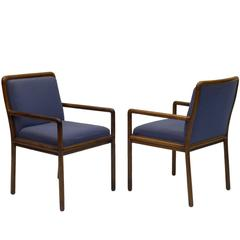 Fine Pair of Armchairs by Ward Bennett for Brickel Associates