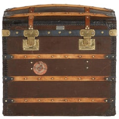 Moynat Steamer Trunk, Restored, France circa 1920s