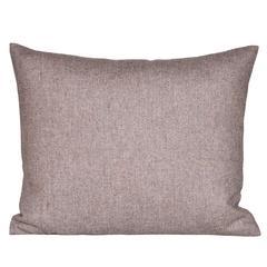 Small Vintage Heather Donegal Tweed Irish Wool with Irish Linen Cushion Pillow