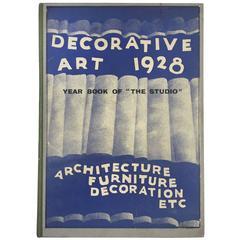"Decorative Art, 1928 –""the Studio"" Year-Book"