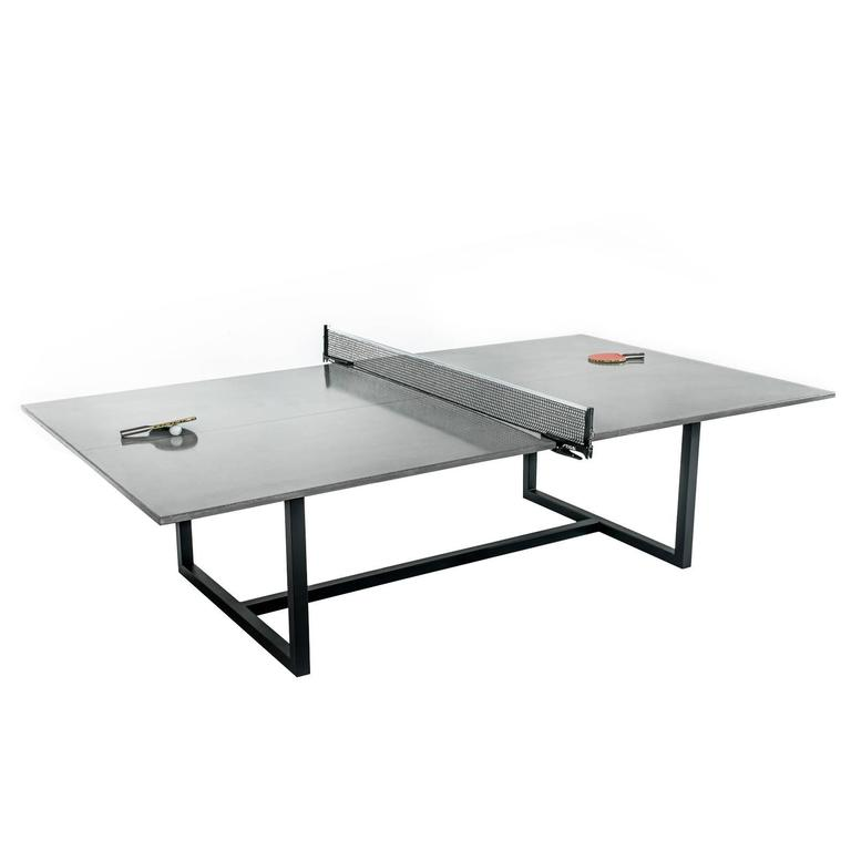 james de wulf vue concrete ping pong table with powder. Black Bedroom Furniture Sets. Home Design Ideas