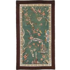 Early 20th Century Swedish Pile Carpet