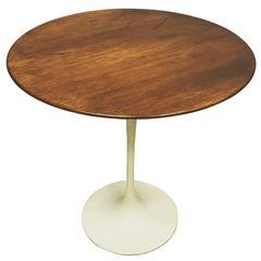Eero Saarinen for Knoll Tulip Side Table in Walnut