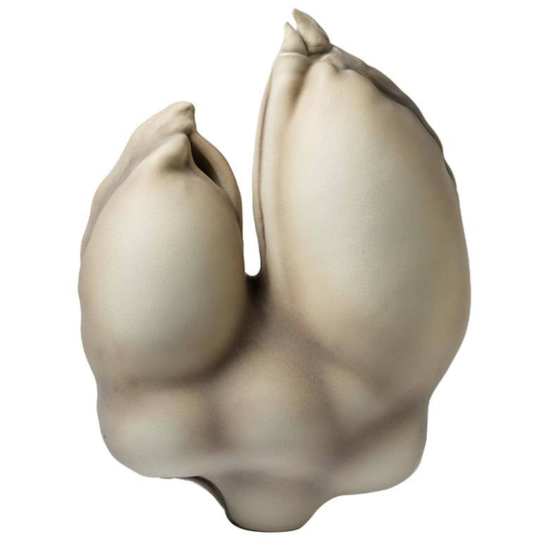 Porcelain Sculpture by Wayne Fischer, circa 2016