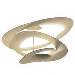 Gold Led Pirce Ceiling Light by G.M. Scutella for Artemide, Italy