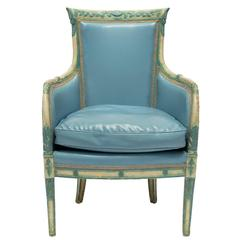 Painted Regency Style Armchair
