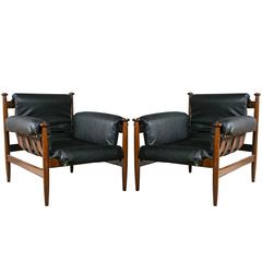 Two Pair of Finn Juhl Style Lounge Chairs Price per Pair.