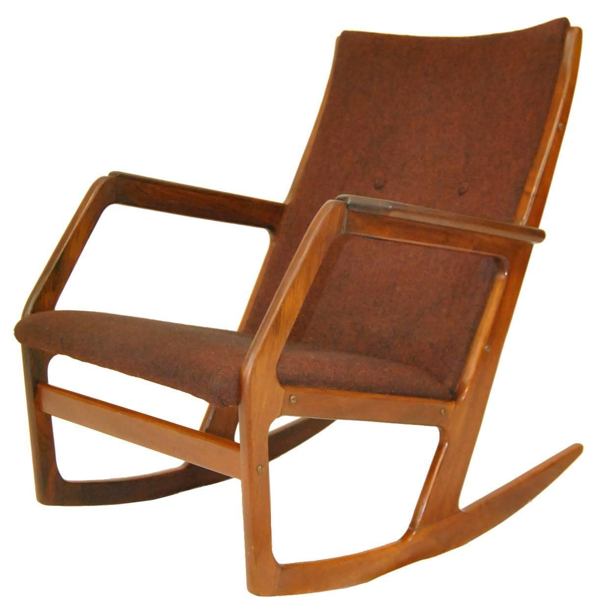 How to make a simple wooden rocking chair - Kubus Model 100 Rocker Designed By Holger Georg Jensen For Sale At 1stdibs