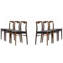 Kai Lyngfeldt-Larsen Dining Chairs by Søren Willadsen Møbelfabrik in Denmark