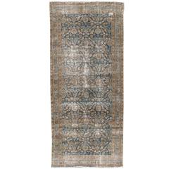 Antique Distressed Malayer Persian Rug