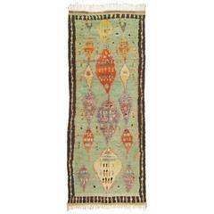 Mid-20th Century Moroccan 'Boujad' Carpet