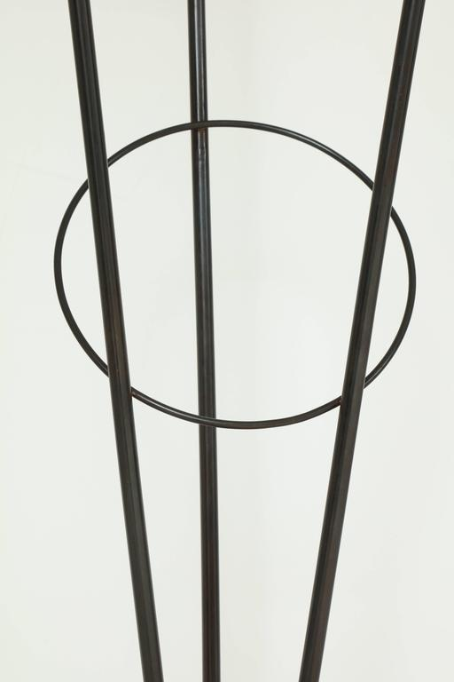 Fran Taubman Metal Floor Lamp, 1988 7