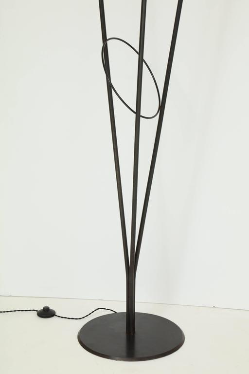 Fran Taubman Metal Floor Lamp, 1988 3