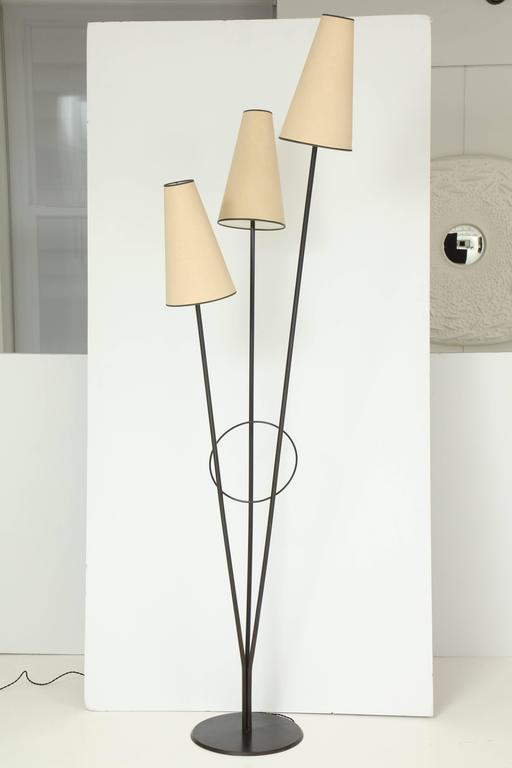 Fran Taubman Metal Floor Lamp, 1988 2