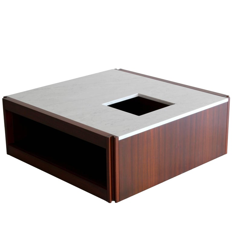 Marble Coffee Table by Angelo Mangiarotti