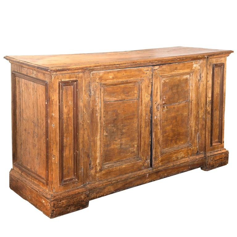 18th Century Tuscan Two-Door Buffet For Sale