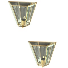 Pair of Sconces by Cristal Art