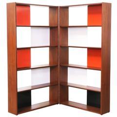 Rare Evans Clark Room Divider or Bookshelf for Glenn of California