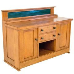 Rare Art Deco Haagse School Sideboard by H.Wouda for Pander