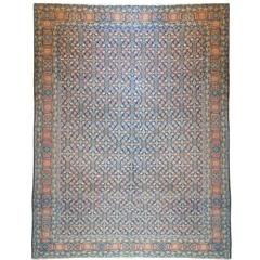 Remarkable 19th Century Malayer Rug