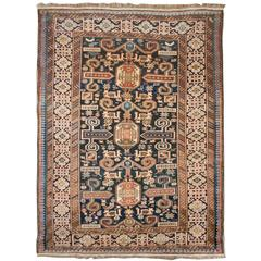 Fascinating 19th Century Perpedil Rug