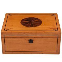 Antique Satinwood Box