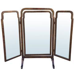 19th Century English Dressing Mirror
