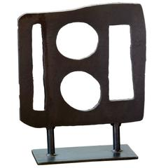 "Martha Sturdy, Steel Contemporary Sculpture, ""Little People #10"""