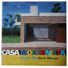 """Casa Modernista, A History of the Brazil Modern House"" Book"