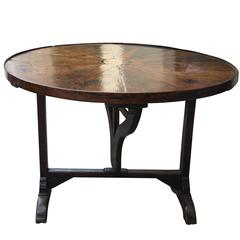 19th Century, French Wine Tasting Table