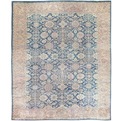 Antique Persian Large Size Sultanabad Rug