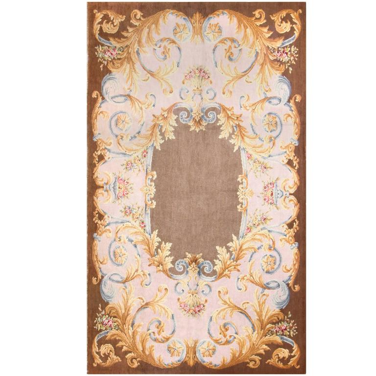 Antique Large Rug: Large Antique Savonnerie French Rug For Sale At 1stdibs