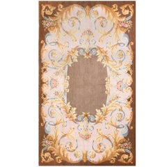 Large Antique Savonnerie French Rug. Size: 10 ft 2 in x 17 ft (3.1 m x 5.18 m)