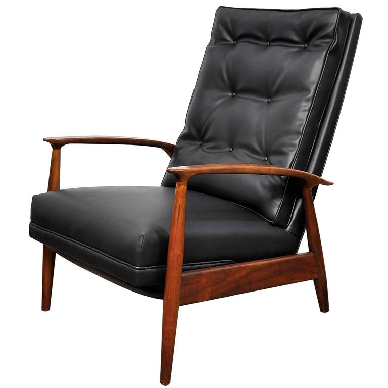 Milo Baughman For James Inc. Lounge Chair Recliner For Sale
