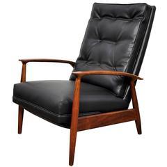 Milo Baughman for James Inc. Lounge Chair Recliner