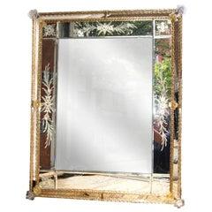 Antique Venetian Mirror