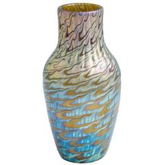 Highly Iridescent Loetz Vase, circa 1898 Phenomen Gre 7734