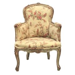 18th Century Louis XV Childs Chair