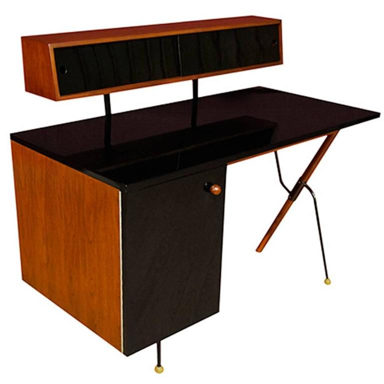 Greta M. Grossman 6200-A Desk with Storage Top for Glenn of California