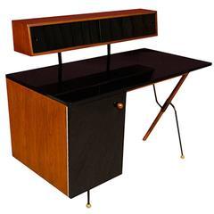 Greta M. Grossman 6200-A Desk with Storage Top for Glenn of California