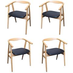 Hans Wegner 525 Chairs in Oak