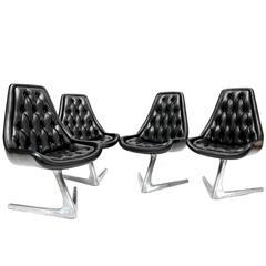 Chromcraft Star Trek Swivel Chairs