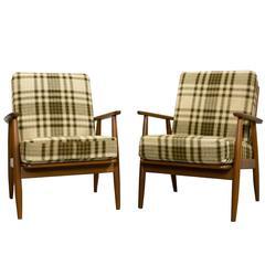 Mid-Century Danish Arm Chairs