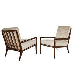 Pair of T.H. Robsjohn-Gibbings for Widdicomb Lounge Chairs